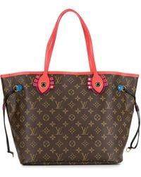 Louis Vuitton Сумка-тоут Neverfull Mm Pre-owned - Коричневый