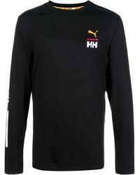 PUMA ロングtシャツ - ブラック