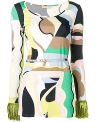 Emilio Pucci - Vallauris プリント トップ - Lyst