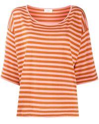 Altea ストライプ Tシャツ - オレンジ