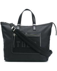 Tod's Logo Tote Bag - Black