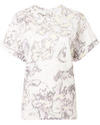 3.1 Phillip Lim プリント Tシャツ - ホワイト