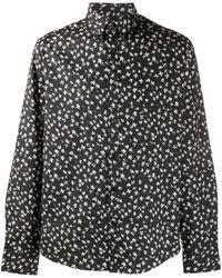 Michael Kors Floral-print Shirt - Black