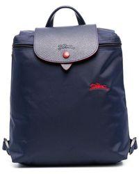 Longchamp Рюкзак Le Pliage - Синий