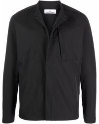 Stone Island Куртка-рубашка Marina - Черный