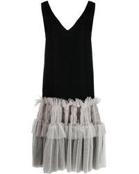 Viktor & Rolf Lady Lady チュールヘム ドレス - ブラック