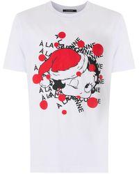 À La Garçonne Betty Boop Tシャツ - ホワイト