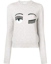 Chiara Ferragni Blinking Eye セーター - グレー