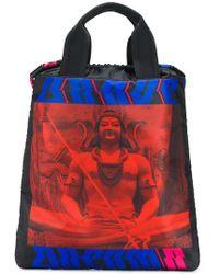DIESEL - Printed Tote Backpack - Lyst
