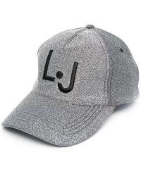 Liu Jo ロゴ キャップ - グレー