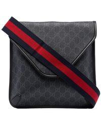 Gucci GG Supreme Messenger Tas - Zwart