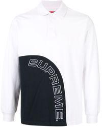Supreme Corner Arc ポロシャツ - ブラック