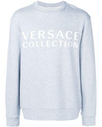 Versace ロゴ スウェットシャツ - グレー