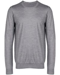 Paolo Pecora - Crew Neck Sweater - Lyst