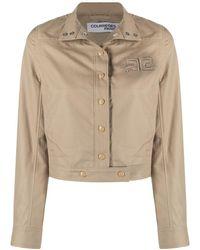 Courreges Embroidered-logo Jacket - Multicolour