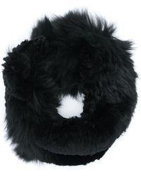 Yves Salomon Fur Snood - Black