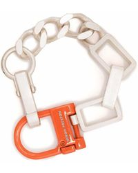 Heron Preston Chain-link Bracelet - Metallic