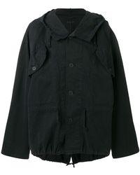 Ann Demeulemeester | Lightweight Hooded Jacket | Lyst