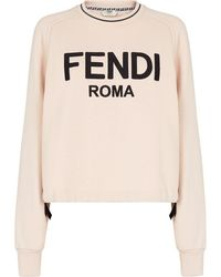 Fendi Толстовка Roma - Розовый