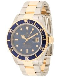 Rolex - Montre Submariner 40 mm pre-owned (1993) - Lyst