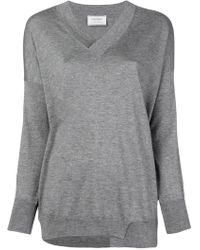 Snobby Sheep - V-neck Sweater - Lyst