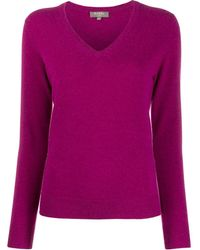 N.Peal Cashmere - V-neck Sweater - Lyst