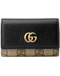 Gucci Porte-clés Marmont GG - Noir
