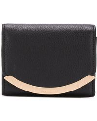 See By Chloé Folded Wallet - Black