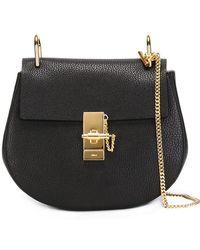 Chloé - Drew Leather Shoulder Bag - Lyst