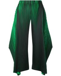 Pleats Please Issey Miyake - Micro Pleated Trousers - Lyst