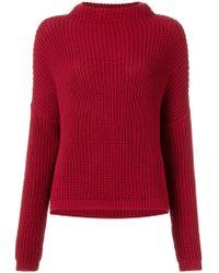 UMA   Raquel Davidowicz Knitted Jumper - Red