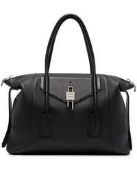 Givenchy アンティゴナ ロック ハンドバッグ M - ブラック