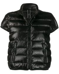 Hogan Padded Short-sleeved Jacket - Black