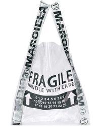 Maison Margiela Fragile ショッパーバッグ - マルチカラー