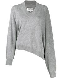 Maison Margiela - Vネック セーター - Lyst
