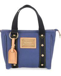 Louis Vuitton Сумка-тоут Antigua Cabas Mm 2005-го Года - Синий