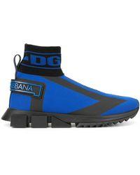 Dolce & Gabbana Высокие Кроссовки Sorrento - Синий