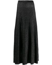 JOSEPH グリッタープリーツスカート - ブラック