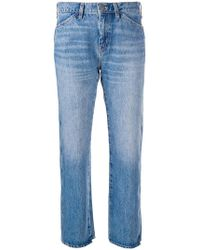 M.i.h Jeans - Cult Cropped Jeans - Lyst