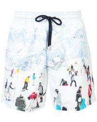 Vilebrequin - Ski Motif Swim Shorts - Lyst
