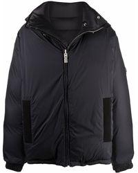 Givenchy リバーシブル パデッドジャケット - ブラック