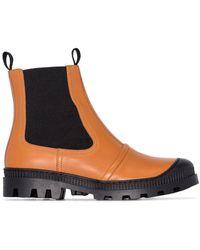 Loewe Lug-sole Chelsea Boots - Brown