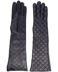 Manokhi - Gants à coutures contrastantes - Lyst