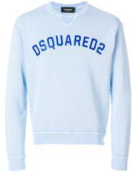 DSquared² - Logo Printed Sweatshirt - Lyst