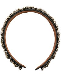 Christopher Kane Crystal Headband - Multicolor