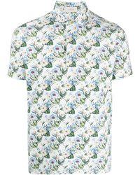 Altea Рубашка Поло С Цветочным Принтом - Многоцветный