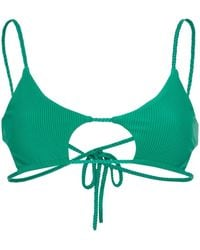 Frankie's Bikinis Willa ビキニトップ - グリーン