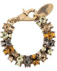 Vivienne Westwood - Armband Verfraaid Met Kristal - Lyst