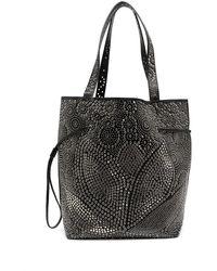 10 Corso Como Stud-embellished Shopper Tote - Black