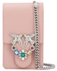 Pinko Crossbodytas Met Juwelen - Roze